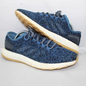 Men's Adidas Pure Boost Night Blue  9.5